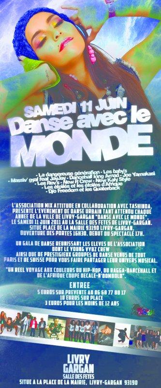 KABOUM VENEZ NOMBREUX SAMEDI 11 JUIN SALLE DES FETES DE LIVRY-GARGAN (ouverture porte 16h30, début spectacle 17h)
