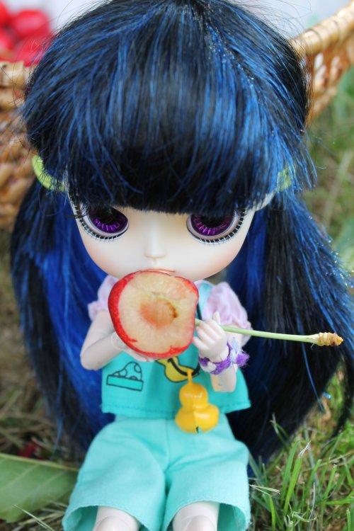 Emiko et les cerises