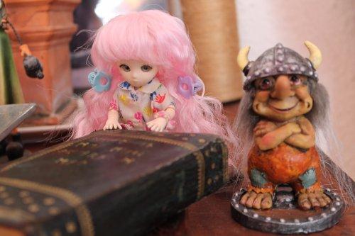 Patisserie et le gnome