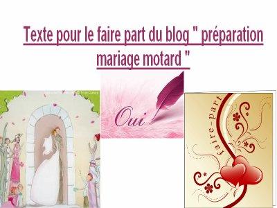 Texte Faire Part Motard Motard