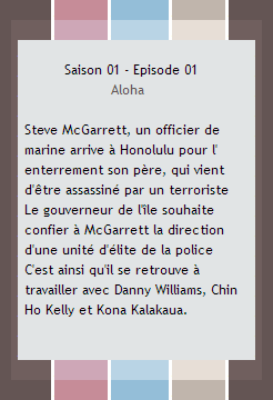 + Hawaifive0.skyblog.com'♥   Ta source sur la série policière; Hawaii 5-0    créa'&déco'