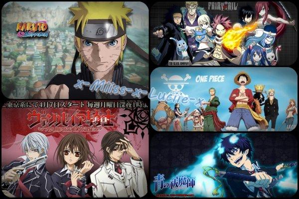 J'adore Les Mangas ♥