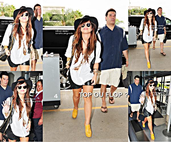 *  Demi arrivant à LAX le 24/07. *