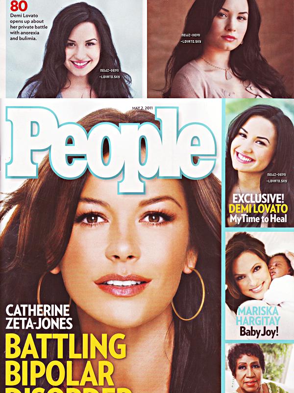 *       Demi  apparaîtra dans  « People magazine » du mois de  mai 2011.                          *