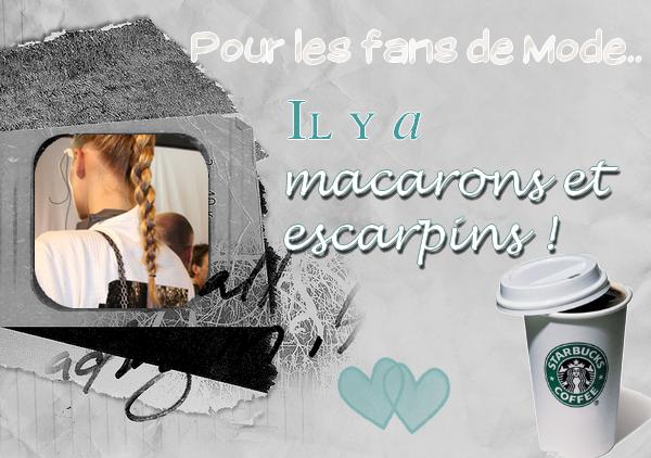 Bienvenue sur Macarons et Escarpins, ami(e)s modeux/modeuses. ;D