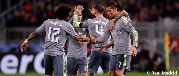 Le Real Madrid mène le classement UEFA
