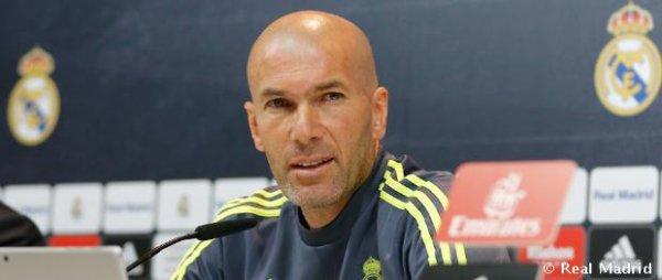 """Zidane : """"Je demande au public d'être à fond, comme les joueurs"""""""
