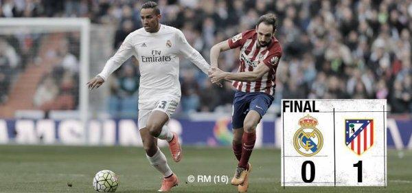 FT: Real Madrid 0-1 Atlético Madrid (Griezmann 53').