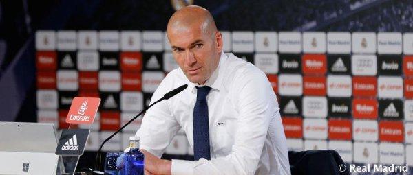 """Zidane : """"Nous avons encore des défis et nous n'allons pas arrêter la saison là"""""""