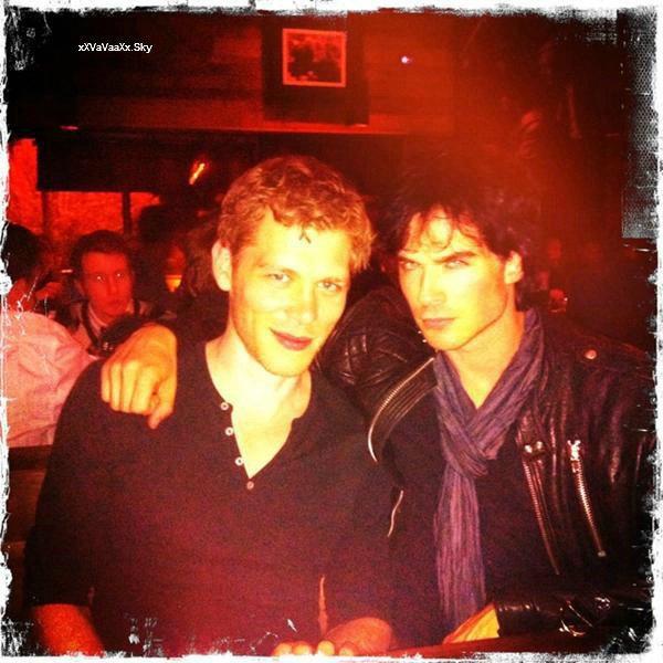 Ian & Joseph.