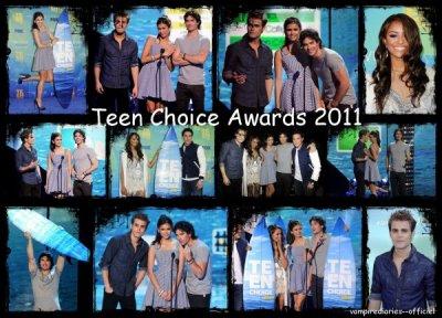 Teen Choice Awards 2011 : les résultats !