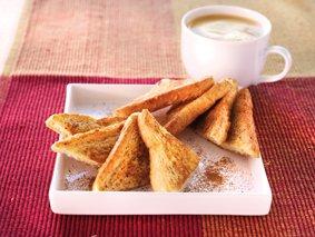Café liégeois et pain perdu à la cannelle