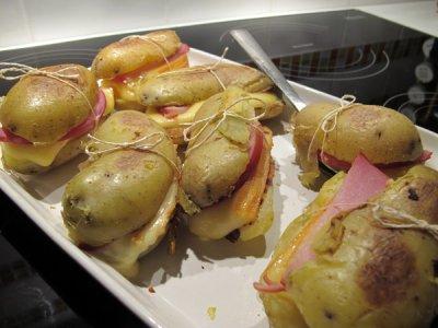 Paupiettes de pomme de terre façon tartiflette