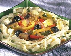 Pâtes provençales à l'orange et au miel ( Colruyt )