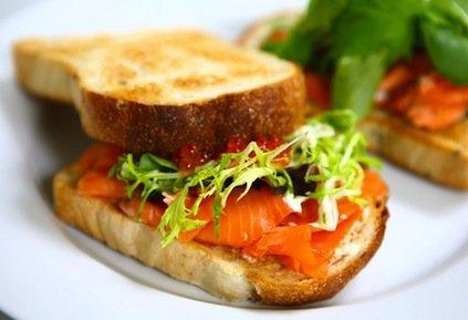 Croque au saumon ( yunomi )