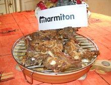 Côtelettes d'agneau au miel et épices ( Marmiton )