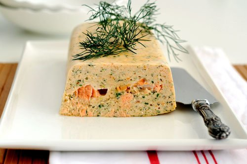 Terrine de poisson ( Epicurien.be )