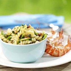 Salade de spirellis aux épinards et aux câpres ( Colruyt )
