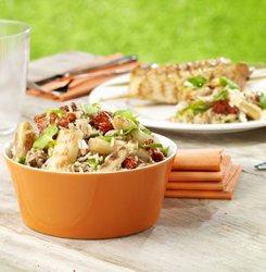 Salade de riz estivale aux asperges grillées ( Colruyt )