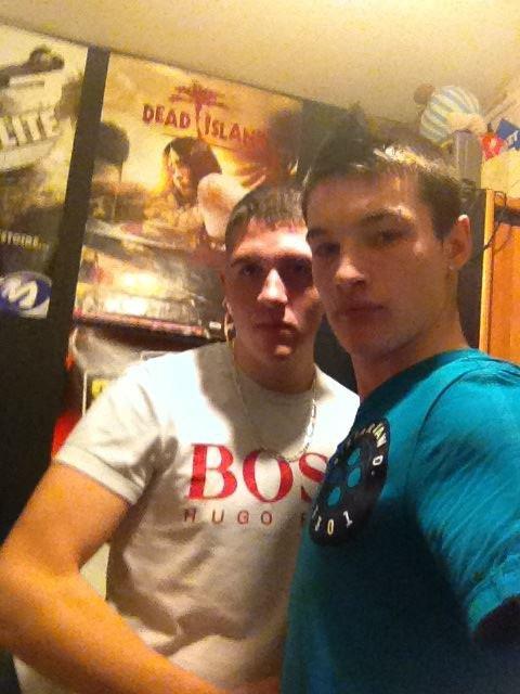 moi et le beau frère
