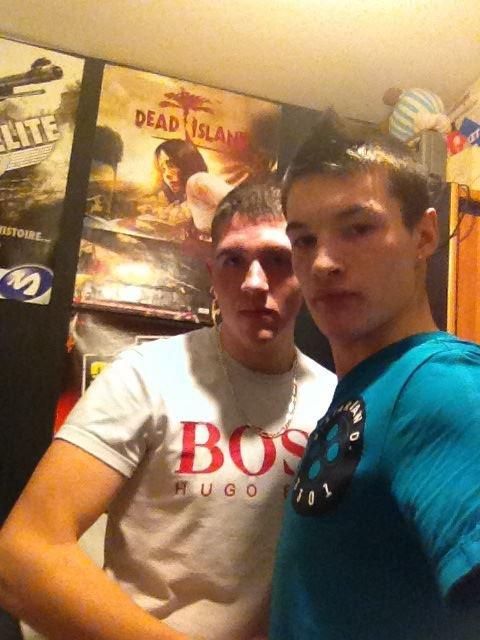 le beau frère et moi