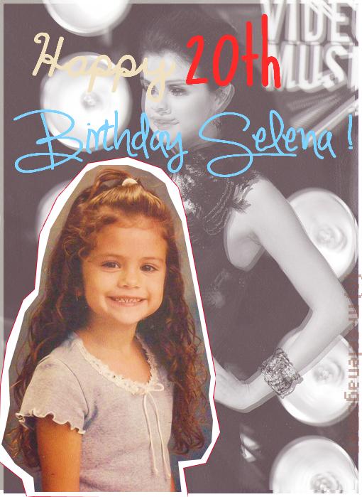 Joyeux anniversaire Selena ♥