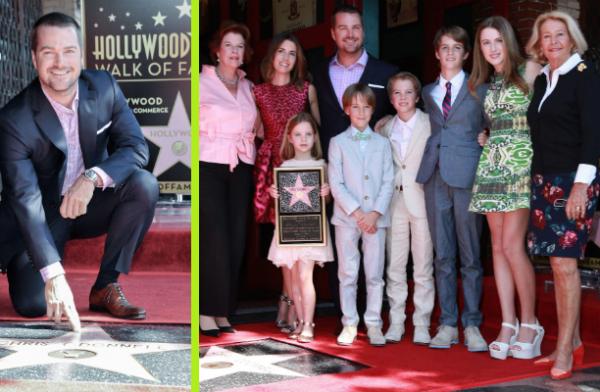 Une étoile et beaucoup d'émotion pour la star de NCIS : Los Angeles (VIDÉO)