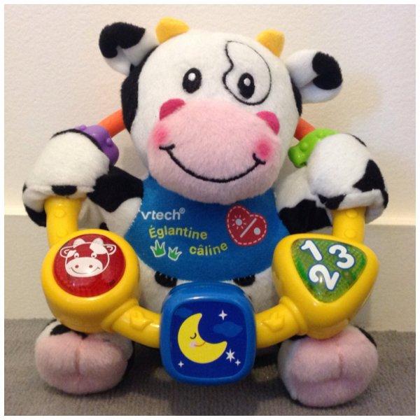 Églantine la vache câline de chez Vtech