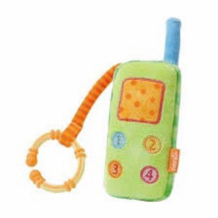 Telephone bebe hochet de chez Babysun
