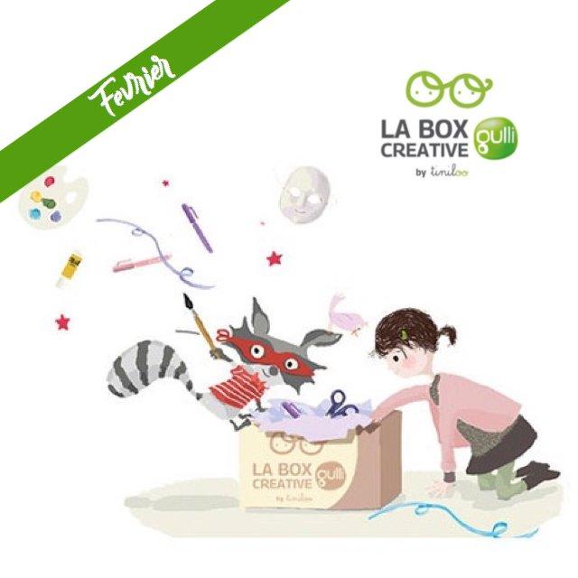 Tiniloo Box Gulli du mois de février