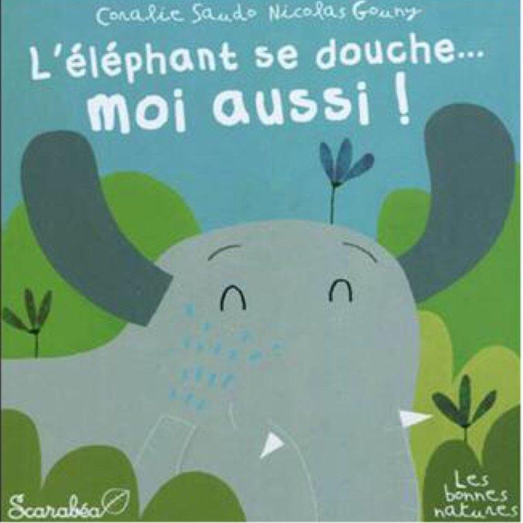L'éléphant se douche... Moi aussi