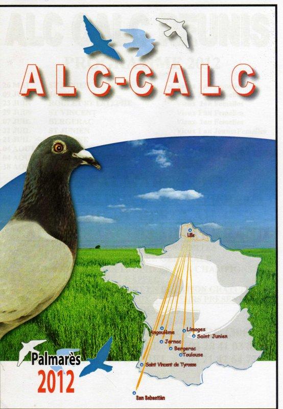 LES PALMARES  2012  DU ALC-CALC