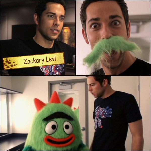 . Video: Zac at Yo Gabba Gabba! Live!  .  .  By #ZacharyLevi  .