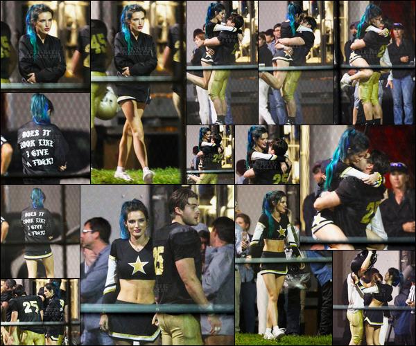 - 08/03/17 : Bella Thorne a été aperçue en plein tournage du film «Assassination Nation» - en Louisiane !La petite miss Thorne tournait cette fois-ci une scène avec le beau Cody Christian qui semble donc être son petit-ami dans le film. • Top or Flop ? -