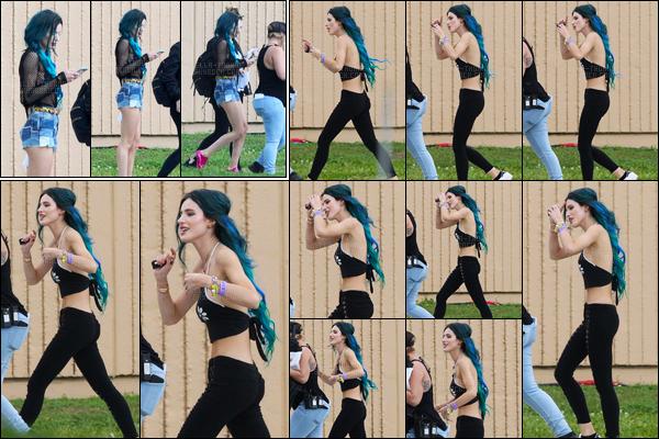 - 06/03/17 : Bella était sur le plateau de tournage du film «Assassination Nation» à La Nouvelle-Orleans !Nouvelle journée de tournage pour notre belle actrice. J'adore sa première tenue mais je suis beaucoup moins fan de la deuxième. • Top or Flop ? -