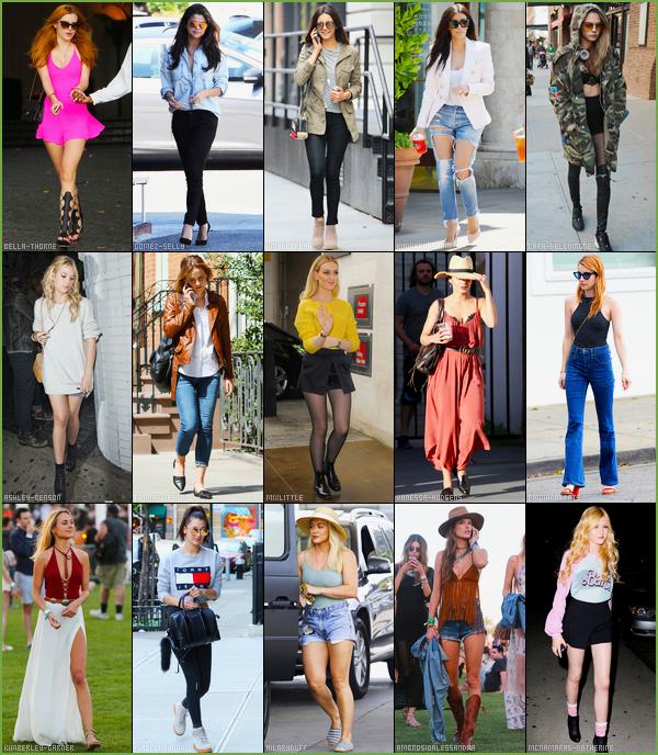 - --SONDAGE---─-  Qui de ces quinze sublimes stars féminines porte la meilleure tenue printanière ?Pour accéder au sondage et donc, voter pour votre tenue favorite, c'est ici que ça se passe... • article en collaboration crée par mes soins. -