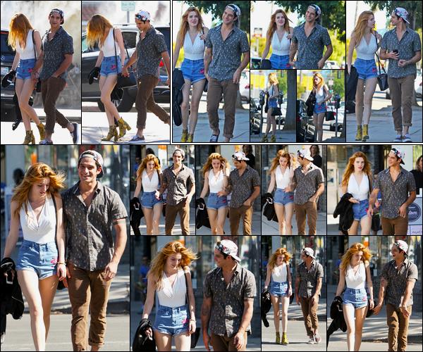 - 20/10/16 : Bella.T et Tyler.P ont été aperçus marchant dans les rues de Sherman Oaks, allant déjeuner !Ils sont tellement beaux nos amoureux ! J'adore le look de Bella et également celui de Tyler, c'est donc pour moi un sans fautes ! • Top or Flop ? -