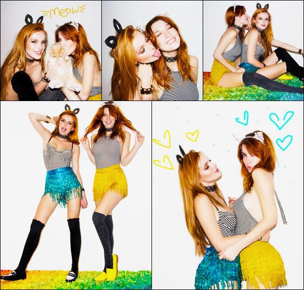 - Bella Thorne a posé pour un photoshoot (amateur) en compagnie de sa s½ur Dani.-