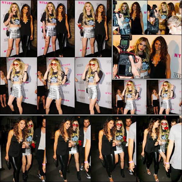 - 02/05/17 : Notre jolie Bella était présente à la soirée «NYLON Young Hollywood Party», à Los Angeles !Annabella en a profité pour montrer sa nouvelle couleur blonde accompagnée par Kyra Santoro, une de ces amies les plus proches.• Top or Flop ? -