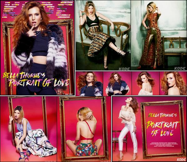 - La sexy B.Thorne fait la couverture du magazine «KODE» pour le mois de Mai 2017.-