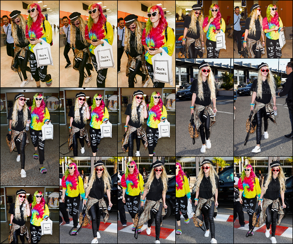 - 23/05/17 : Nos deux s½urettes Bella et Dani ont été vues quittant l'aéroport de la ville de Nice - (France).Bella est donc de passage en France, sans doute pour le 70ème Festival de Cannes, événement majeur du cinéma international. • Top or Flop ? -
