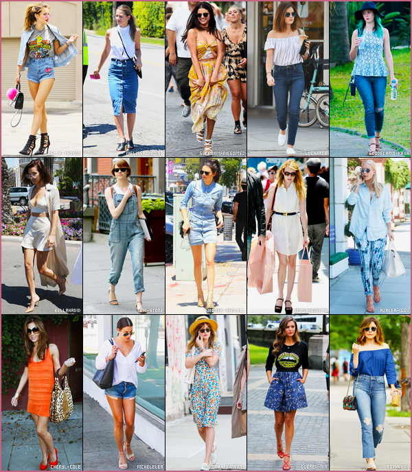 - --SONDAGE---'-.- Laquelle de ces quinze jolies célébrités féminines porte la meilleure tenue estivale ? Pour accéder au sondage et donc, voter pour votre tenue favorite, il suffit de cliquer sur ce lien ! • article en collaboration crée par mes soins. -