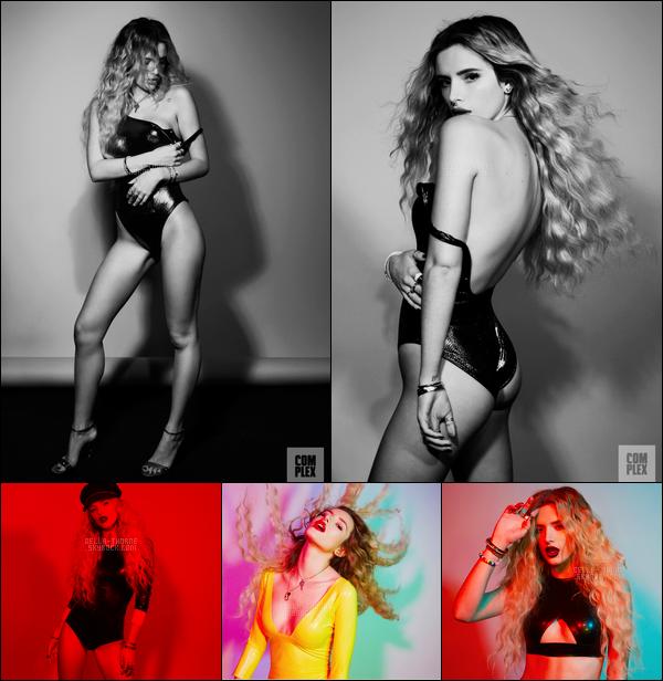 - Notre Bella a posé devant l'objectif de Brooke Nipar pour le magazine US : Complex.-