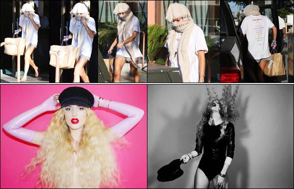 - ..15/06/17.. ─ Bella a été vue se la jouant incognito en sortant du restaurant de sushi «Katsuya» situé à Los Angeles !De plus, deux nouvelles photos issues de son photoshoot pour Complex ont été dévoilés, et notre Bella y est toujours autant sexy... • Top or Flop ? -