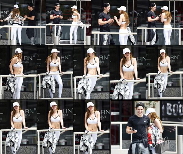 - 15/05/16 : Notre jolie Bella et Gregg ont été vus devant une salle de sport du quartier de Brentwood, LA. C'est après une séance de sport que nos amoureux ont été vues quittant celle-ci avec en prime une Bella qui pose pour les papp'z ! • Top or Flop ? -