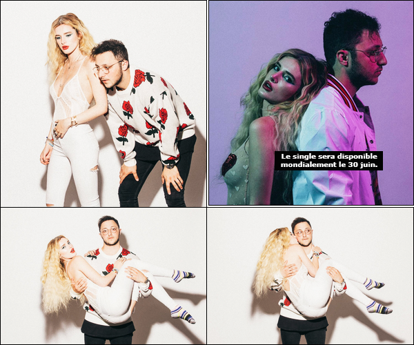 - Découvrez les photos promos du single de Prince Fox ft. Bella Thorne : « Just Call ».-