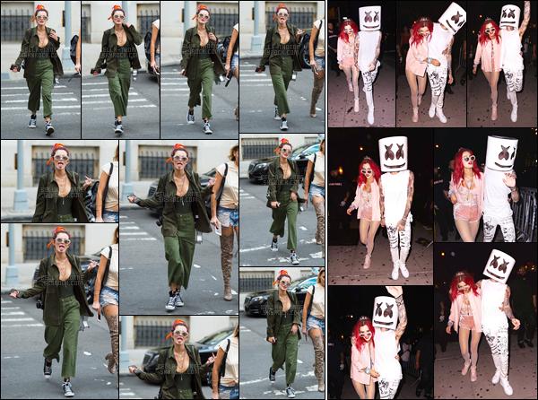 - ..08/07/17.. : Bella.T a été aperçue s'amusant avec les paparazzis dans une rue de la grosse pomme : New-York !Plus tard, Bella Thorne a été aperçue arrivant à la boite de nuit «Irving Plaza» en compagnie du rappeur Blackbear, et dans une tenue que j'adore... -
