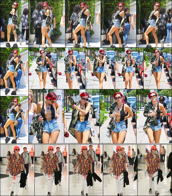 - ..11/07/17.. : Annabella Avery Thorne a été photographiée se dirigeant vers un studio de la ville de Los Angeles !Plus tôt dans la journée, notre jolie Bella a été aperçue quittant l'aéroport internationale «LAX», elle est donc de retour chez elle après ce séjour à NYC. -