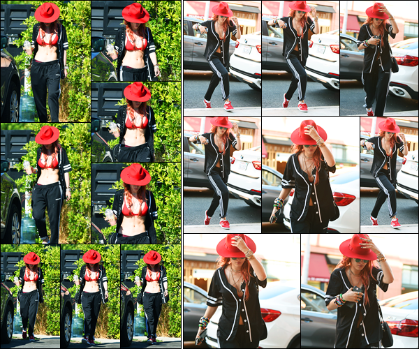 - ..28/08/17.. - Bella Thorne a été photographiée alors qu'elle quittait son domicile, étant à Sherman Oaks !Notre magnifique miss Thorne s'est ensuite rendue à un centre médical à Los Angeles... Coté tenue, c'est pas le top de l'année mais c'est plutôt jolie ! -