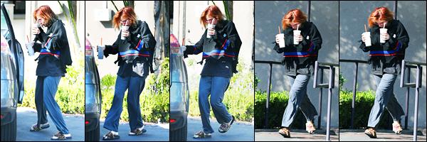 - ..12/10/17.. - Bella Thorne a été photographiée quittant le « Rejuvenate Medical SPA » étant dans Encino !Notre magnifique miss Bella Thorne, boisson à la main, et dans une tenue décontractée a été repérée... Coté tenue, c'est un gros flop pour ma part ! -